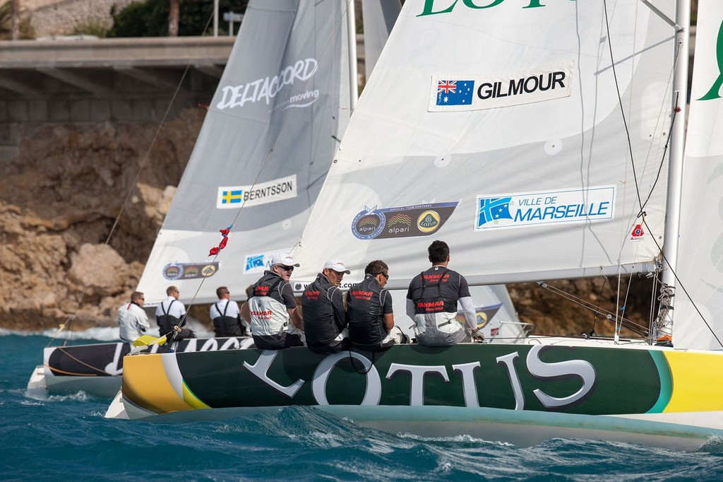 Gilmour starts strongly at Match Race France © Gilles Martin-Raget/AWMRT
