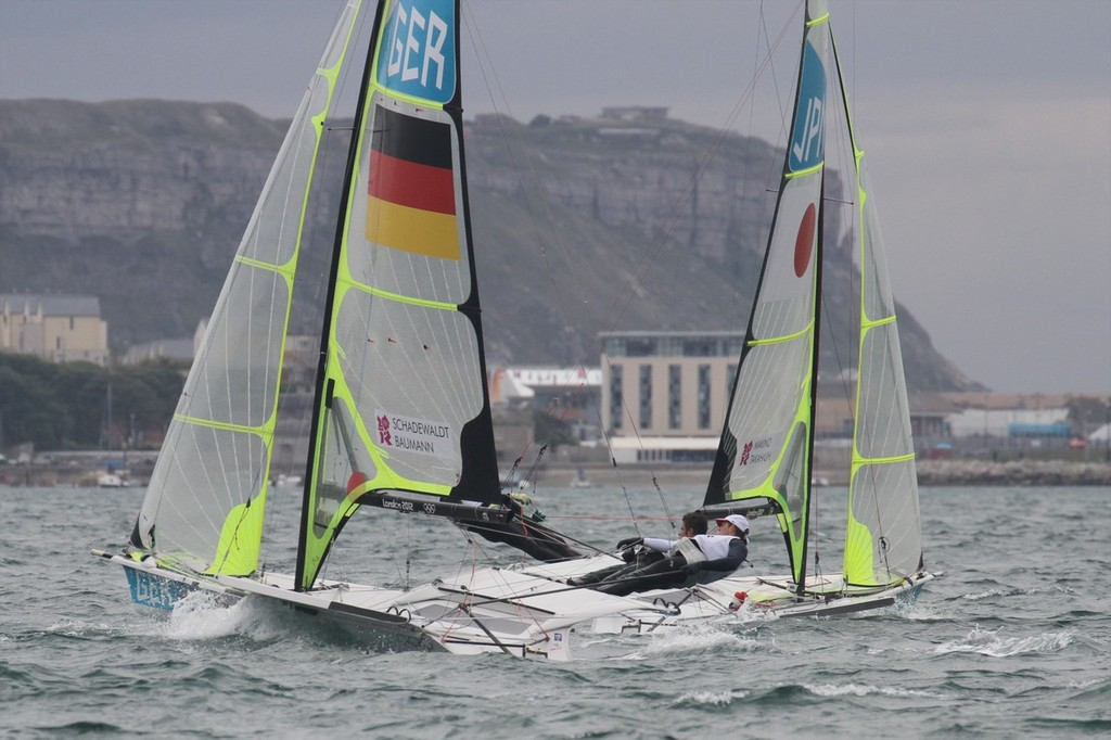 49er (4) photo copyright Richard Gladwell www.photosport.co.nz taken at  and featuring the  class