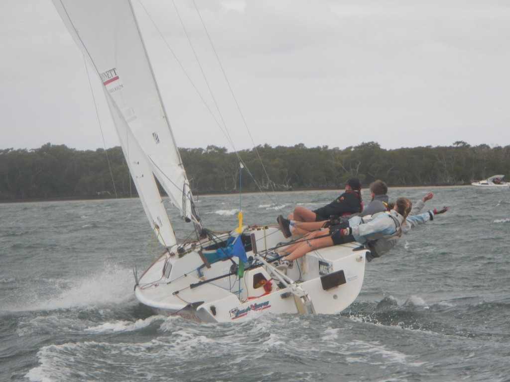 2012 Queensland State Match Racing Championships © Shane Smith