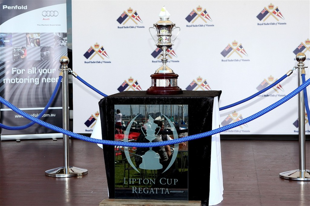 The Lipton Cup Regatta continues to enjoy strong sponsorship support. © Bernie Kaaks