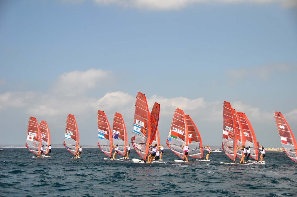 2012 RS:X Youth World Windsurfing Championships © Rory Ramsden