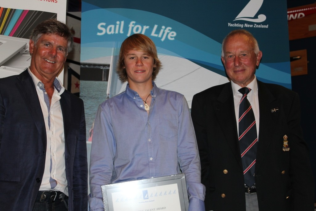 Emerging Talent Award winner - supported by OKI - Isaac McHardie - 2012 Yachting Excellence Awards © Jodie Bakewell-White