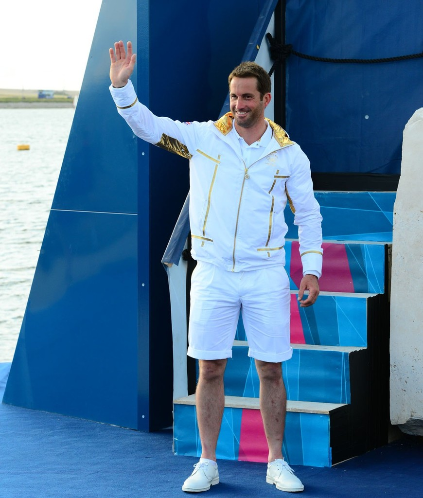 Ben Ainslie - London 2012 Olympic Sailing Competition © Sail-World.com http://www.sail-world.com