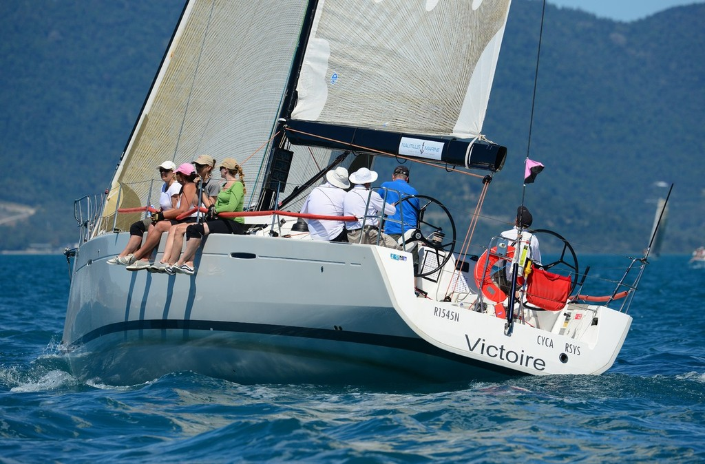 Darryl Hodgkinson's Beneteau First 45 Victoire - Telcoinabox Airlie Beach Race Week 2012 © Telcoinabox Airlie Beach Race Week