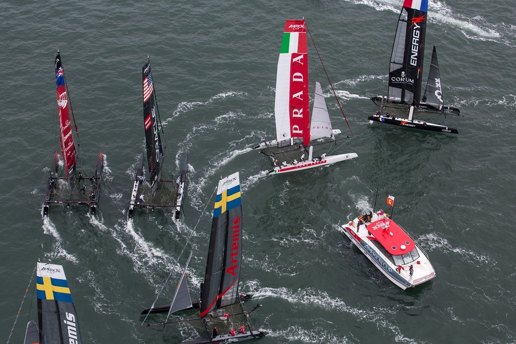 Race Day 4 - America's Cup World Series San Francisco 2012 © ACEA - Photo Gilles Martin-Raget http://photo.americascup.com/