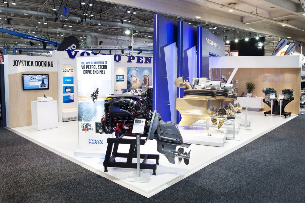 Volvo Exhibition Stand : Volvo penta post sydney boat show wrap