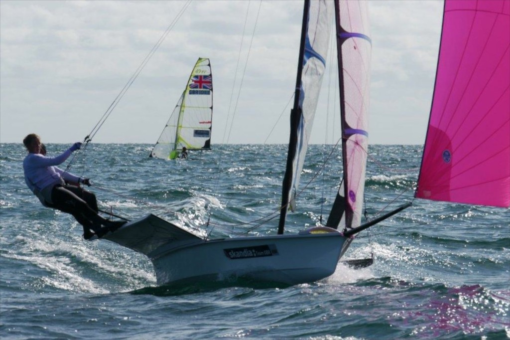 Great Britain - 49er FX © Mackay Boats http://www.mackayboats.com