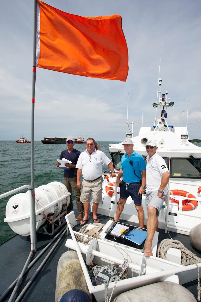 Raja Muda Selangor International Regatta 2012 - Race Management Team © Guy Nowell / RMSIR