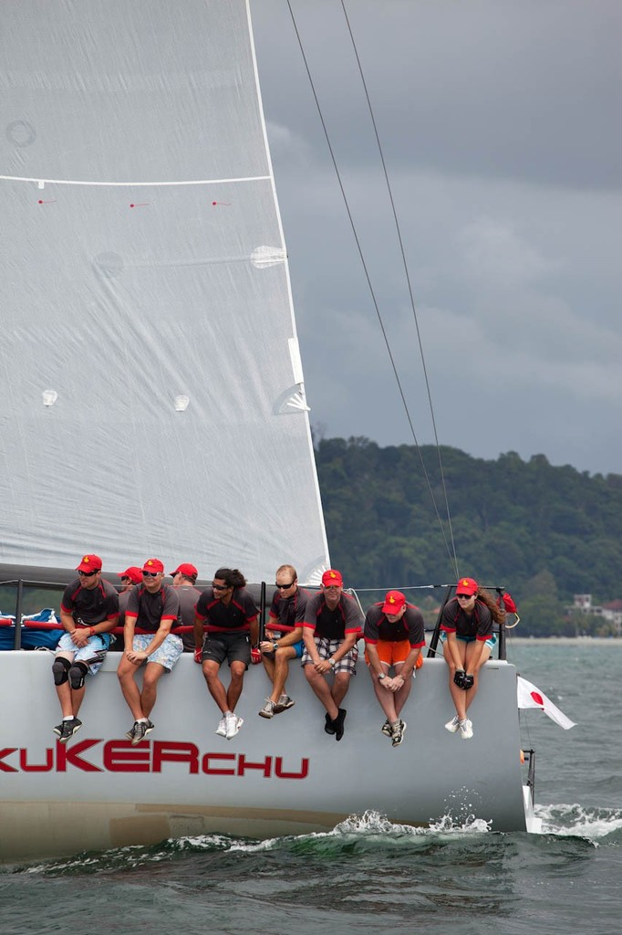 Raja Muda Selangor International Regatta 2012 - KukuKERchu, looking good on the quarter hiking © Guy Nowell / RMSIR