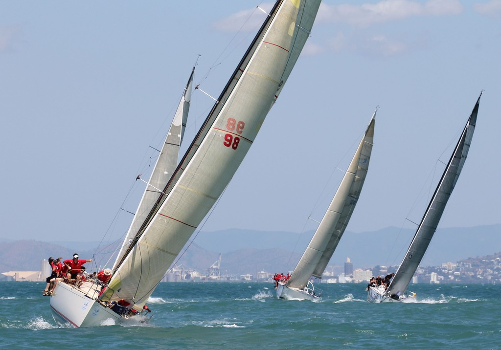 Sunday Race Day at SeaLink Magnetic Island Race Week 2012 ©  SW