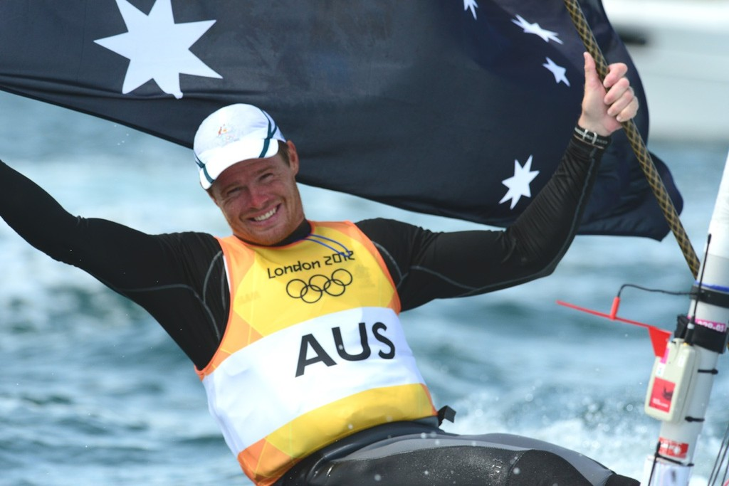 Tom Slingsby wins Gold © Sail-World.com http://www.sail-world.com