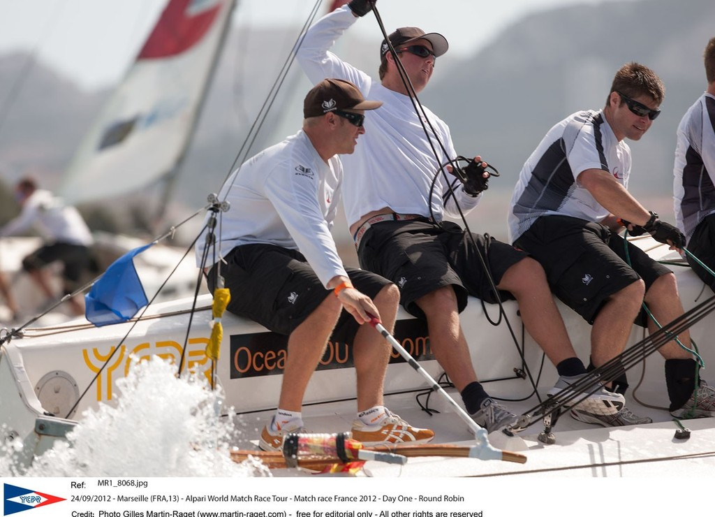 Laurie Jury targets a strong end to the Alpari World MAtch Racing Tour season © Gilles Martin-Raget/AWMRT