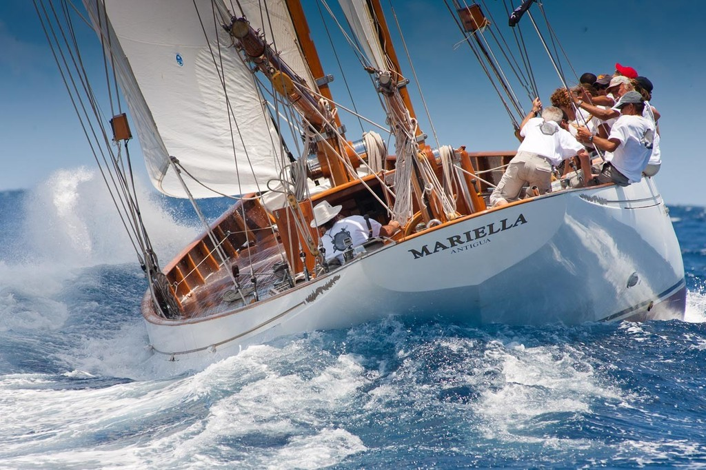 Mariella - winners in the CLASSIC Class at Les Voiles de St. Barth © Christophe Jouany / Les Voiles de St. Barth http://www.lesvoilesdesaintbarth.com/