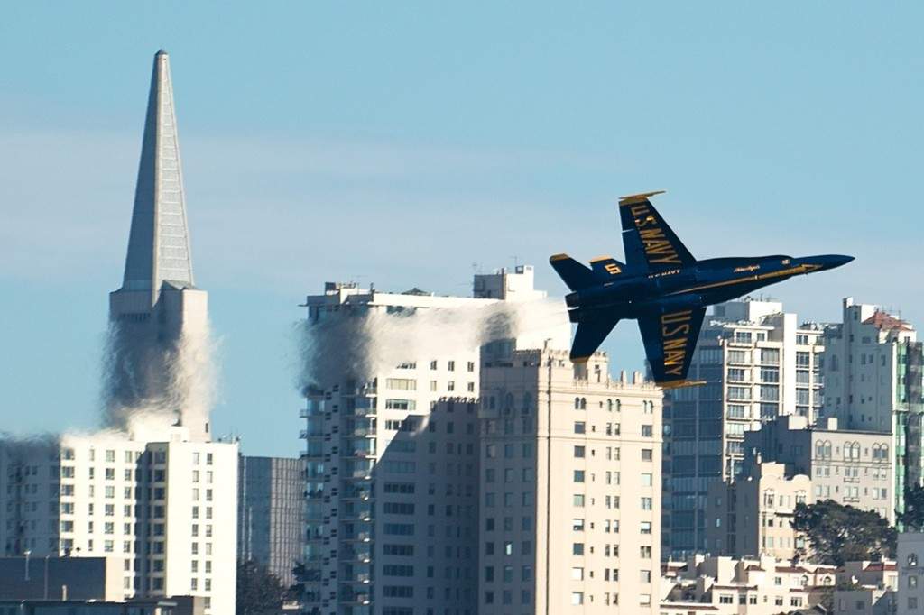 The Blue Angels put on their usual spectacular show - ACWS San Francisco © Chuck Lantz http://www.ChuckLantz.com