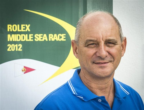 Godwin Zammit, Commodore of the Royal Malta Yacht Club. ©  Rolex/ Kurt Arrigo http://www.regattanews.com