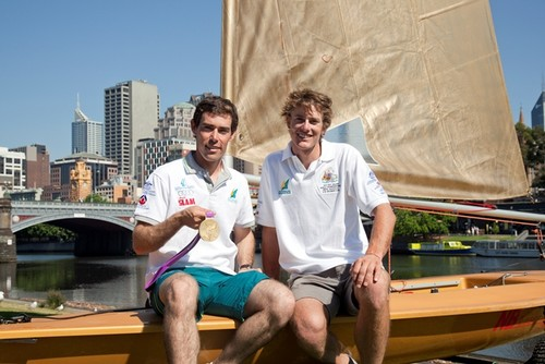 Mat Belcher and Will Ryan © Sail Melbourne