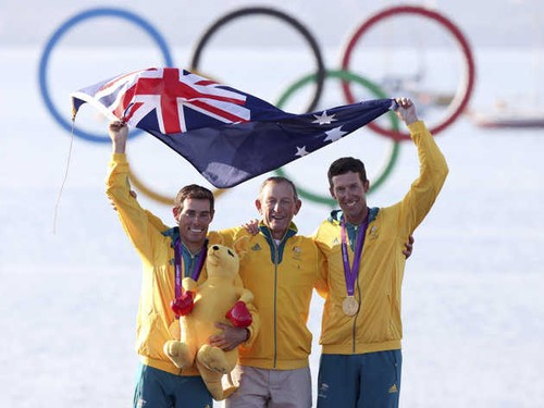 Matthew Belcher, Victor Kovalenko, and Malcolm Page © Associated Press/Francois Mori