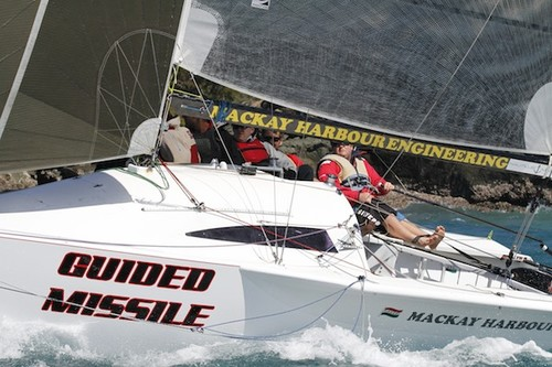 Guided Missile  - Telcoinabox Airlie Beach Race Week 2012 © Teri Dodds http://www.teridodds.com