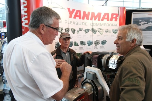 Yanmar diesel engines  © SW