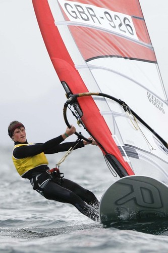 Kieran Martin,GBR 926 - 2012 RS:X Youth World Windsurfing Championships ©  Paul Wyeth / RYA http://www.rya.org.uk