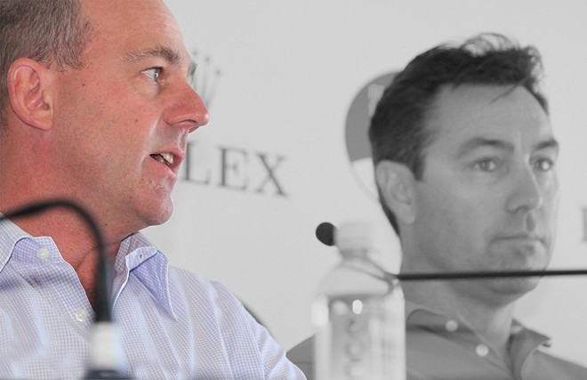 Ichi Ban's skipper Matt Allen explains that the 60 footers are in there with a chance.<br />  - Rolex Sydney Hobart Yacht Race 2102 &copy; Crosbie Lorimer http://www.crosbielorimer.com