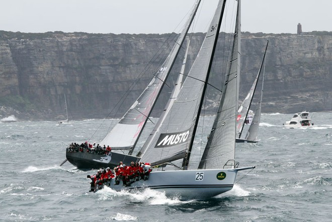 Calm and Living Doll - Rolex Sydney to Hobart ©  Alex McKinnon Photography http://www.alexmckinnonphotography.com