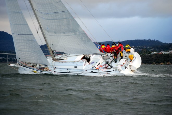 Launceston to Hobart Yacht Race 2012 - Penfold Audi Sport ©  Andrea Francolini Photography http://www.afrancolini.com/