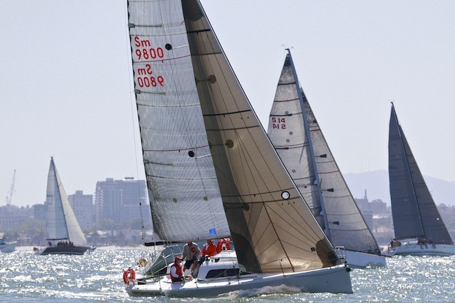 Sportscar is a regular BDD entrant - Ocean Race of Victoria (ORCV) Boxing Day Dash 2012 © Teri Dodds http://www.teridodds.com