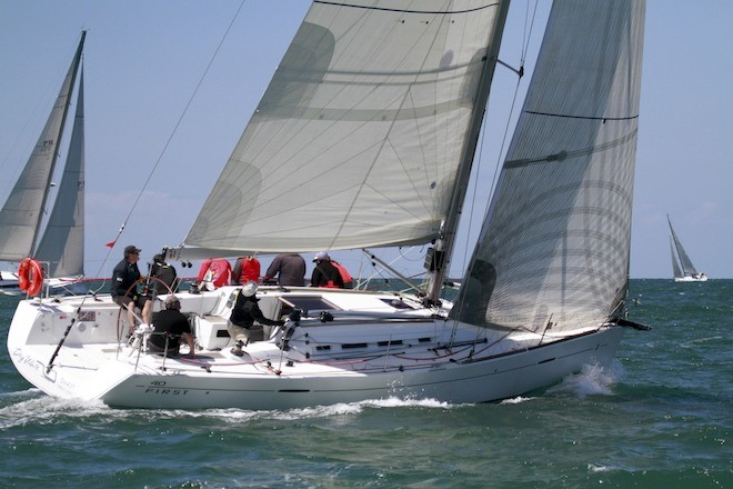 Beneteau First 40, Dry White - Ocean Race of Victoria (ORCV) Boxing Day Dash 2012 © Teri Dodds http://www.teridodds.com