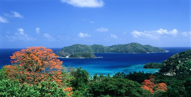 Trinidad and Tobago - beautiful sailing waters ©  SW