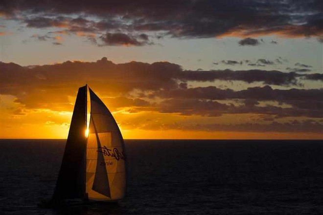 Wild Oats XI at Sunset © ROLEX-Carlo Borlenghi