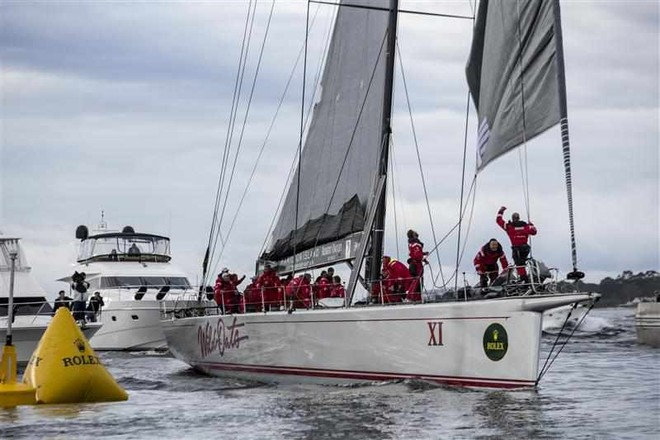 Wild Oats XI breaking its previous record © ROLEX-Carlo Borlenghi