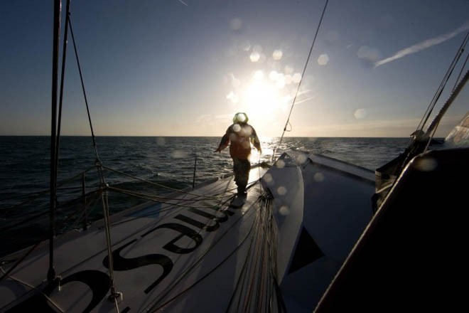 Mike Golding, Gamesa - 2012 Vendee Globe © Mike Golding Yacht Racing http://www.mikegolding.com
