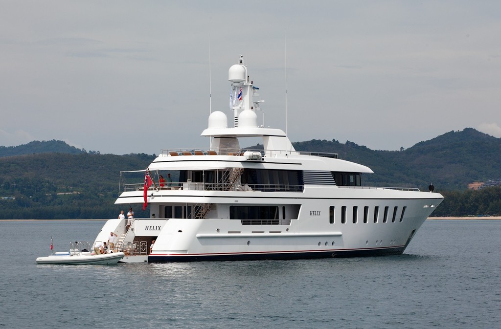 Asia Superyacht Rendezvous  2012. Helix. © Guy Nowell http://www.guynowell.com