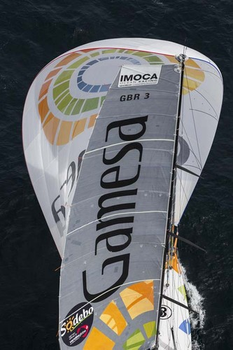 The Gamesa IMOCA Open 60 skippered by Mike Golding. © Lloyd Images http://lloydimagesgallery.photoshelter.com/