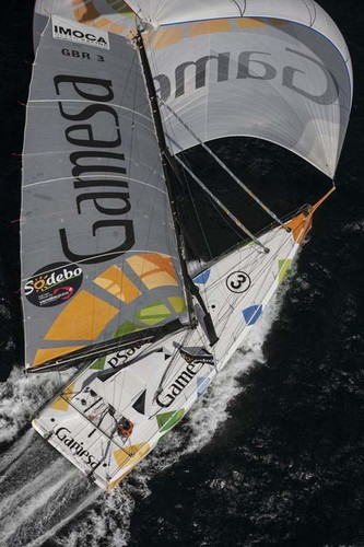 The Gamesa IMOCA Open 60 skippered by Mike Golding © Lloyd Images http://lloydimagesgallery.photoshelter.com/
