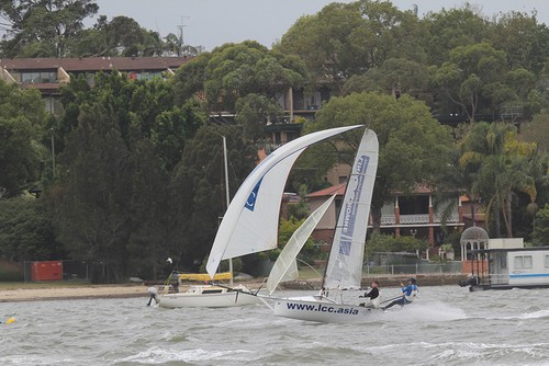 LCC 4th place - Lincoln Crowne NSW 12ft Skiff State Titles © Nick Press