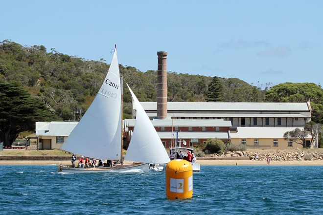 C2011 Salacia claims her win - Talent2 Quarantine Station Couta Boat Race ©  Alex McKinnon Photography http://www.alexmckinnonphotography.com