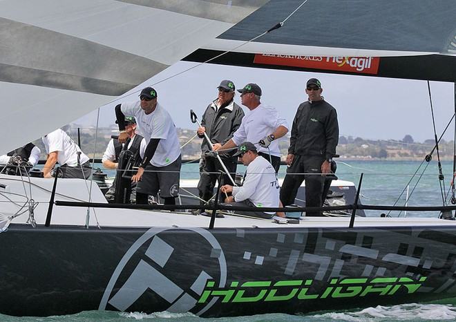Marcus Blackmore and his Hooligan - Festival of Sails ©  John Curnow