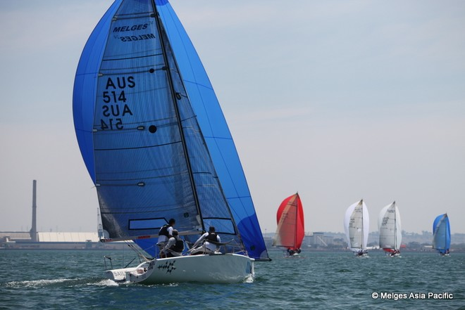 Day 1 Parks Victoria Melges 24 Nationals 2013 © Melges Asia Pacific