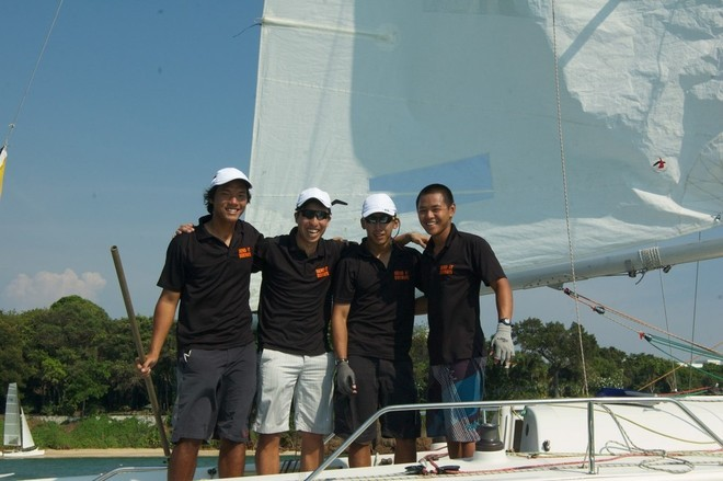 Team Singapore - Matchrace Thailand 2013 © Various people