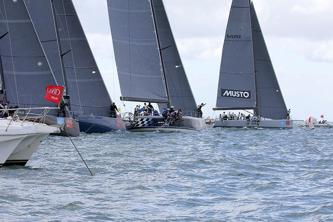 A Start and Calm is over - Festival of Sails ©  John Curnow