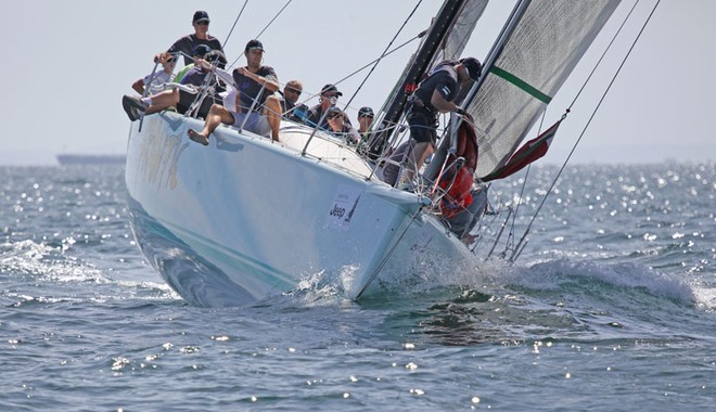Frantic may not have been as fast, but they were always in there trying. - TP52 Southern Cross Cup ©  John Curnow