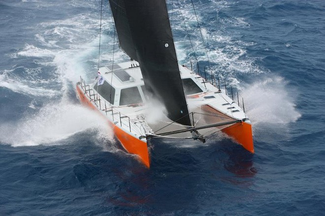 Lloyd Thornburg's Gunboat 66, Phaedo - 2013 RORC Caribbean 600 ©  Tim Wright / Photoaction.com http://www.photoaction.com