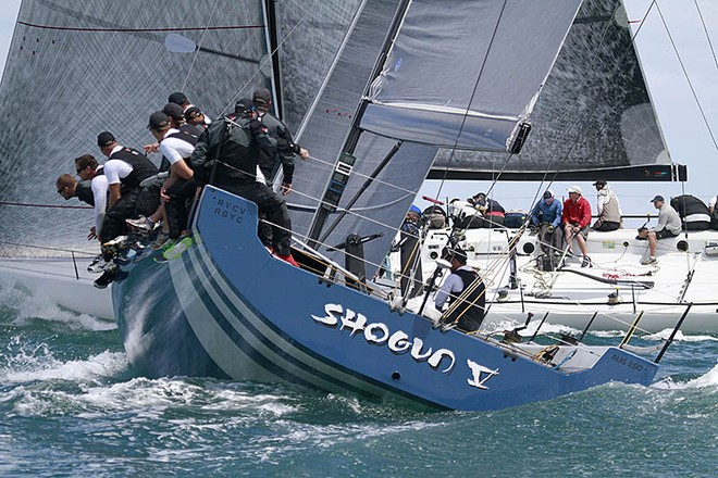 Sailing: Shogun V  at TP52 Southern Cross Cup, Sandringham Yacht Club, Melbourne (AUS).  © Teri Dodds http://www.teridodds.com