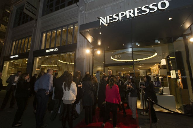 Nespresso and America's Cup enters in a sponsorship deal  ©  ACEA http://www.americascup.com