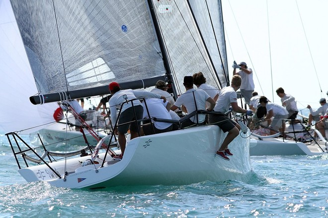 Melges 32 in action at Key West Race Week © Joy Dunigan