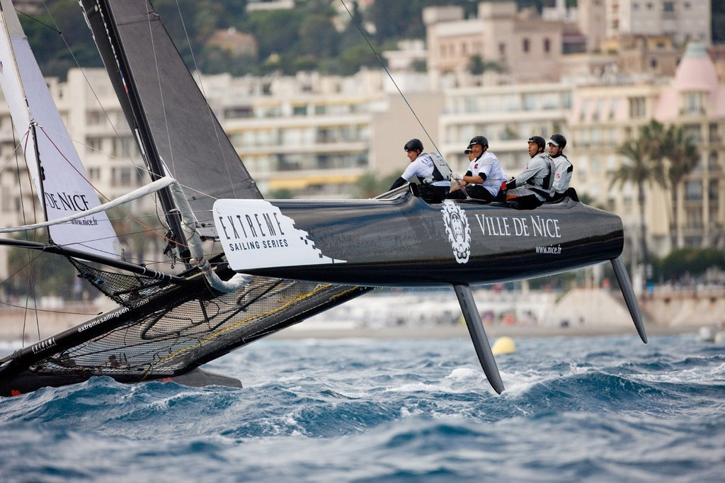 Nice, France will host the penultimate Act of the 2013 Extreme Sailing Series.  © Lloyd Images http://lloydimagesgallery.photoshelter.com/