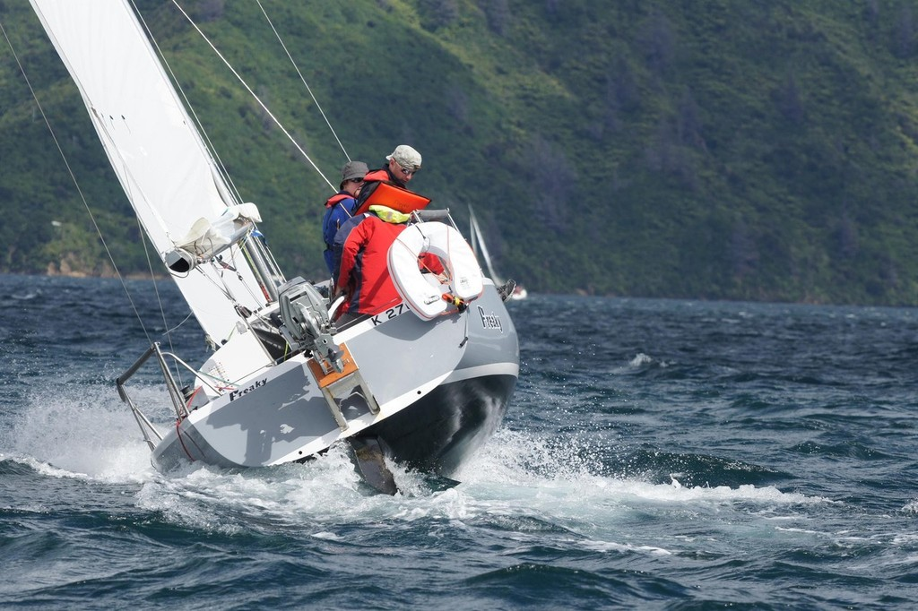 Farr 727 Freaky - Racing in the Marlborough Sounds © Don Gurteen