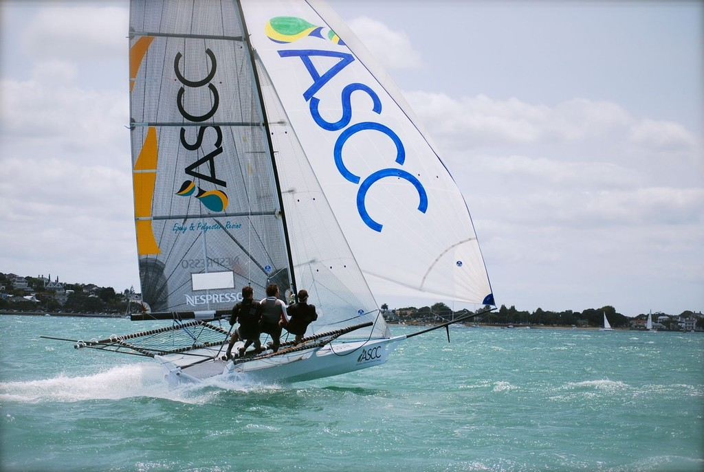ASCC - Murray England, Rowan Swanson and Matt Randle © Cecile Laguette